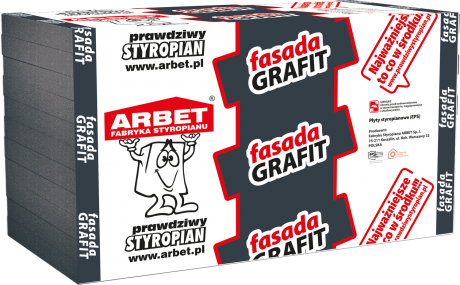 Styropian grafit
